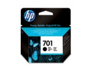HP 701 Black Inkjet Print Cartridge (CC635AE)