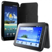 """Samsung Galaxy Leather Book Cover for 7"""" (EF-C980NBECSTD)"""