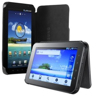 "Samsung Galaxy Leather Book Cover for 7"" (EF-C980NBECSTD)"